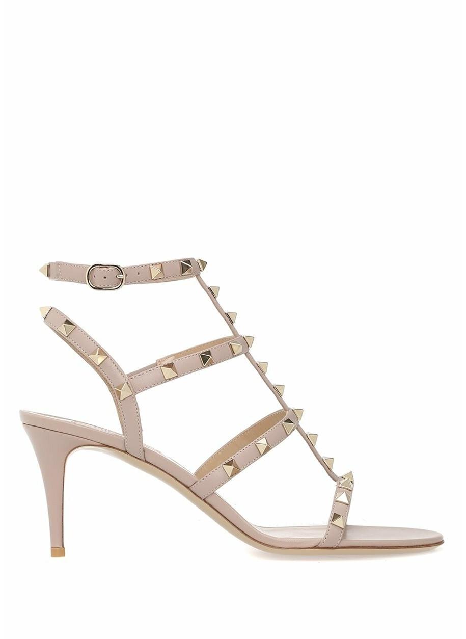 Kadın Valentino İnce Topuklu %100 Deri Sandalet
